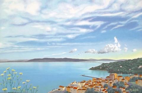 quadro marina Santo Stefano