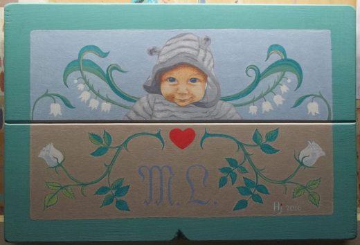 quadro scatola giochi Marie Louise